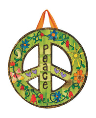 Peace Everywhere Door Décor