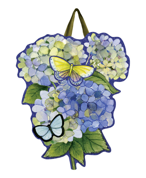 Hydrangea Beauties Door Décor