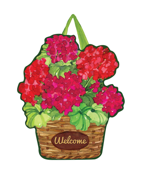 Geranium Variety Door Décor