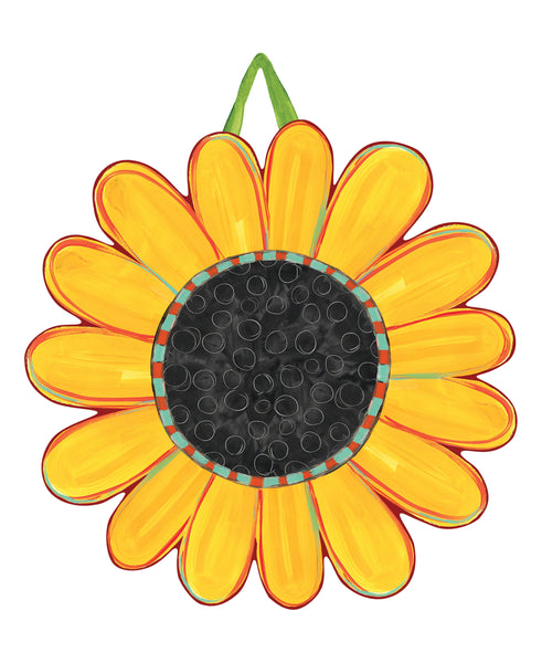 Whimsical Sunflower Door Décor