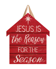 Jesus is the Reason Door Décor