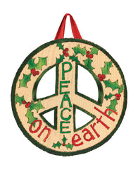 Peace on Earth Door Décor