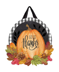 Season of Thanks Door Décor