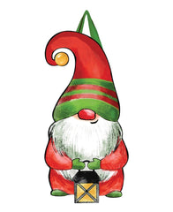 Gnome For Christmas Door Décor
