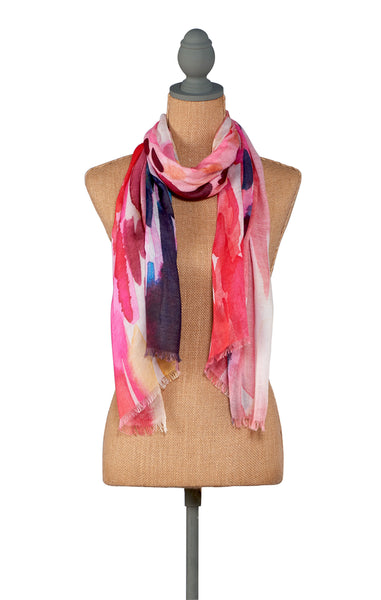 Fire-Abstract Color Scarf