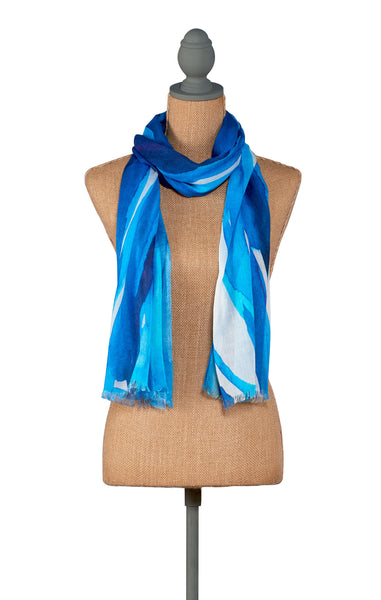 Water-Tranquility Scarf