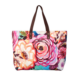 Fire-Floral Tote