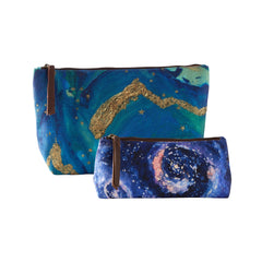Cosmos-Night Sky Pouches (Set of 2)