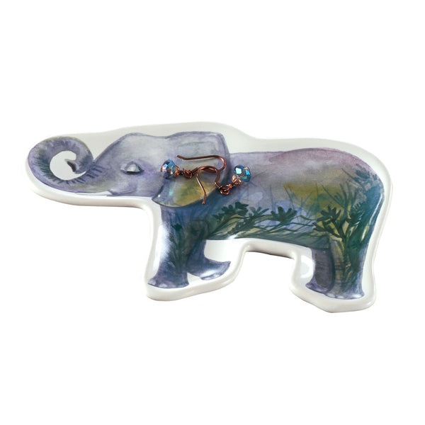 Earth-Elephant Trinket Dish
