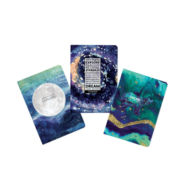 Cosmos-Explore Journals - Set of 3