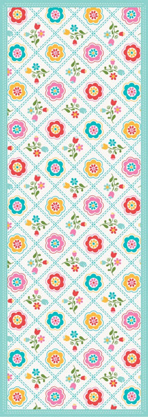 Quilted Floral - Multi Floor Flair - 2.5 x 7