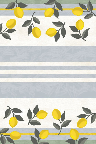 Lemonade Floor Flair - 4 x 6