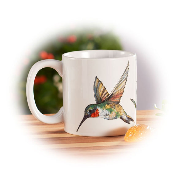 Ruby-Throated Hummingbird Mug