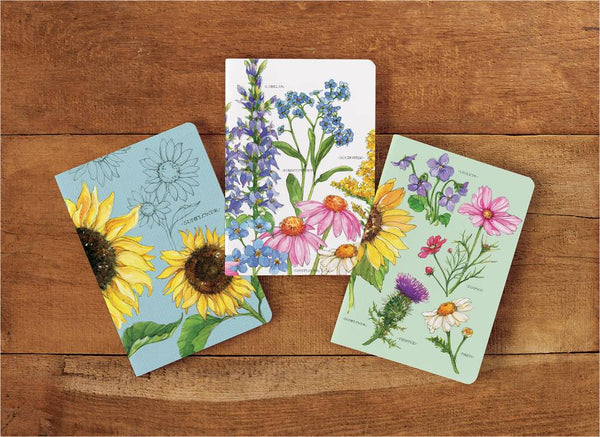 Wildflowers Journal Set