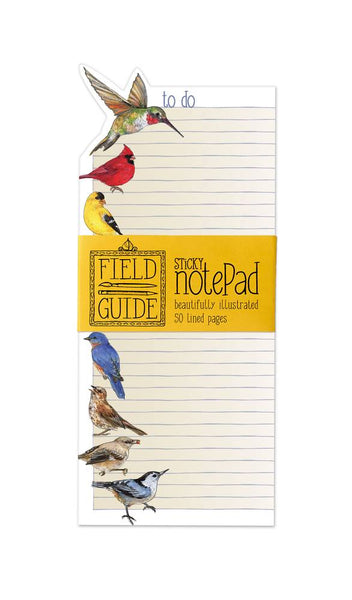 Bird Study Sticky Note Pad