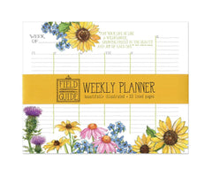 Wildflower Study Weekly Planner