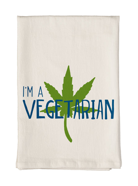 I'm a Vegetarian Towel