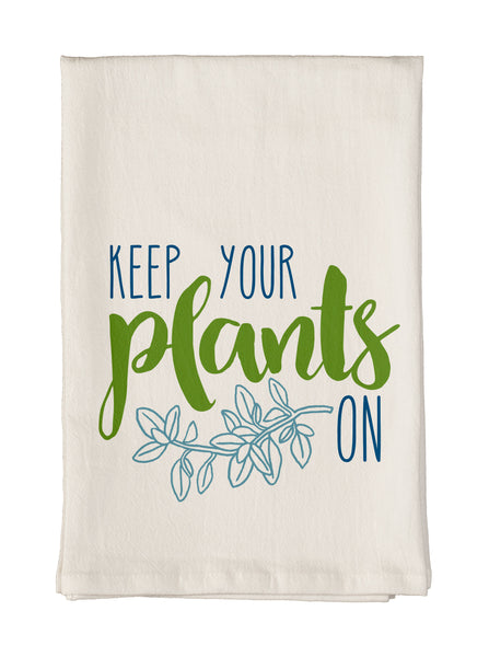 Keep Your Plants On Towel