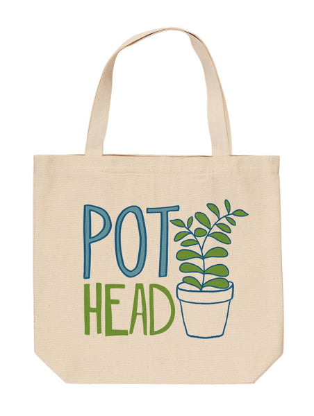 Pot Head Tote
