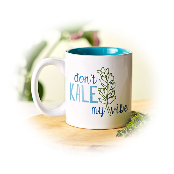 Don't Kale My Vibe Mug