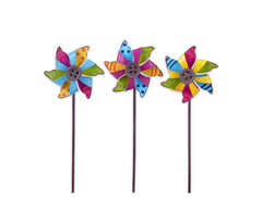 Mini Pinwheel Picks S/3 asst.