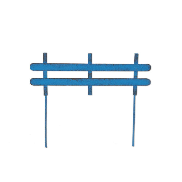 Mini Blue Fence Panels S/4