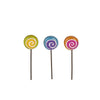 Mini Magical Lollipop Picks S/3 asst.