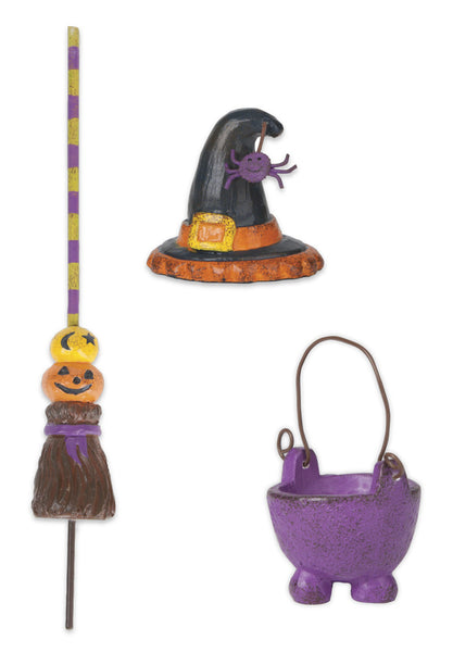 Mini Witch Accessories S/3 asst.