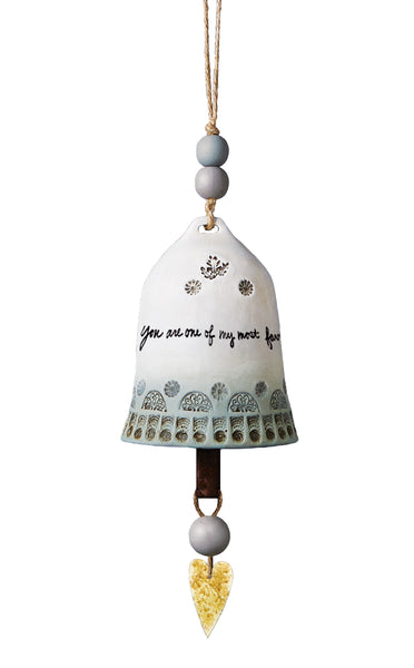 Friend Ceramic Bell