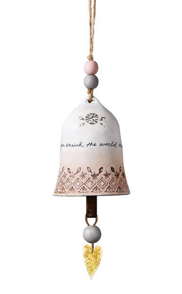 Teacher Ceramic Bell