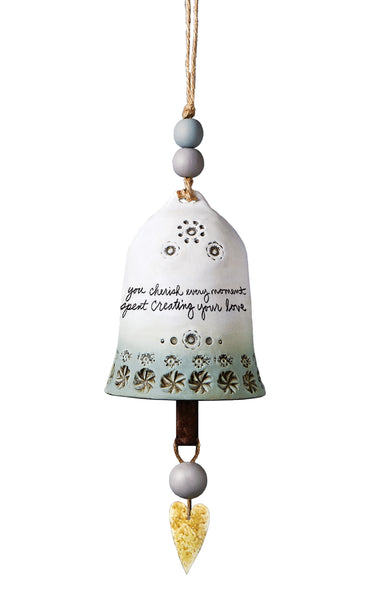 Wedding Ceramic Bell