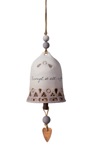 Family Love Ceramic Bell