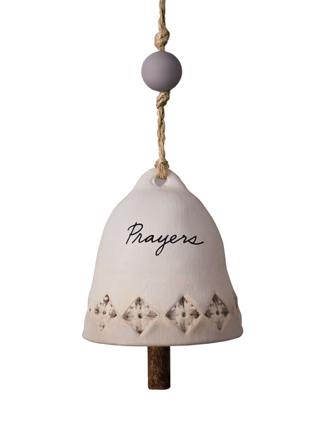 Prayers Ceramic Bell - Small