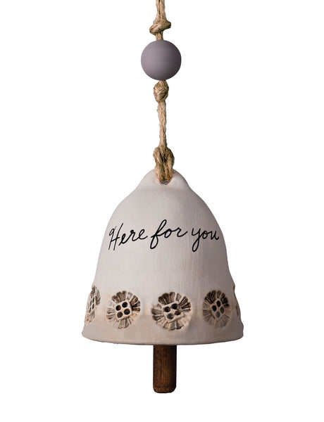 Here For You Ceramic Bell - Small