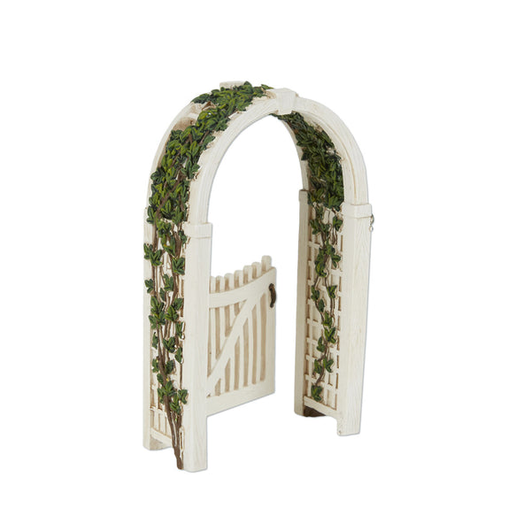 Mini Gated Arbor with Vine