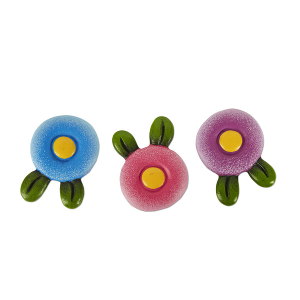 Mini Flower Stepping Stones S/3 asst.