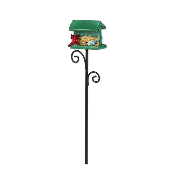 Mini Green Birdfeeder