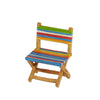 Mini Multicolored Stripe Beach Chair