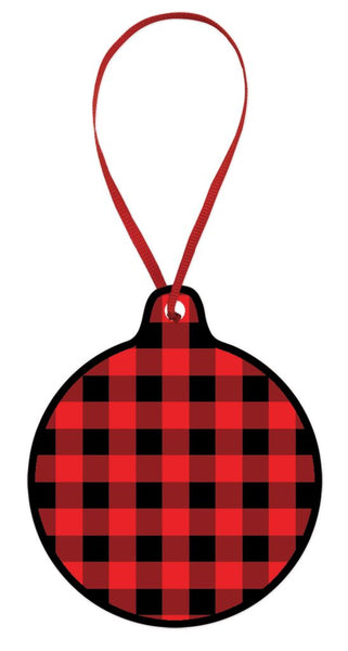 Buffalo Check Ornament