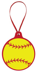 Softball Ornament