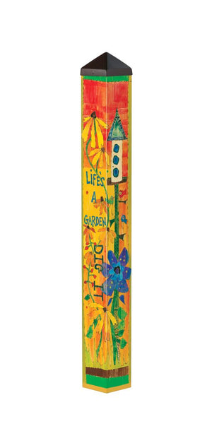Flower Power 3' Art Pole