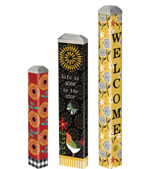Farm Charm Mini Art Poles Set - S/3 asst.