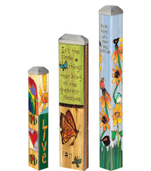 Simple Things Mini Art Poles Set - S/3 asst.
