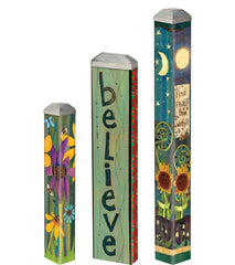 Believe Mini Art Poles Set - S/3 asst.