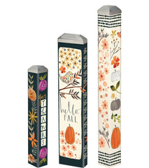 Fall Days Mini Art Poles Set - S/3 asst.