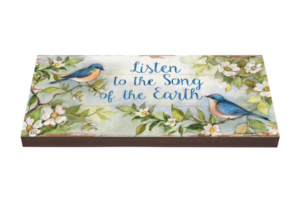Listen to the Song Art Paver Garden Step