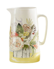 Floral Pitcher