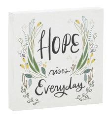 Hope Rises Everyday Canvas Wall Art