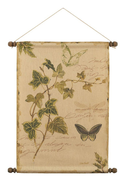 Ivy with Butterfly Wall Hanging