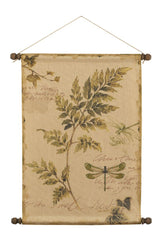 Ivy with Dragonfly Wall Hanging
